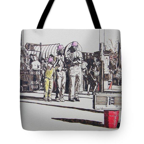 Breakdance San Francisco Tote Bag