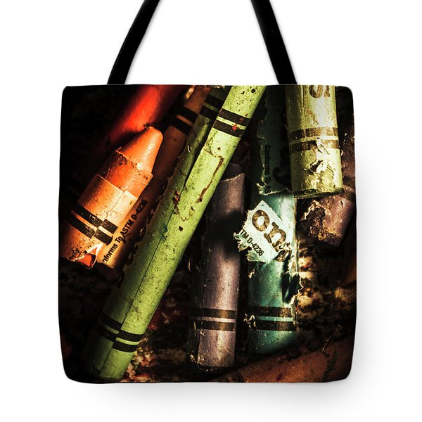 Breakdown Of Color Tote Bag