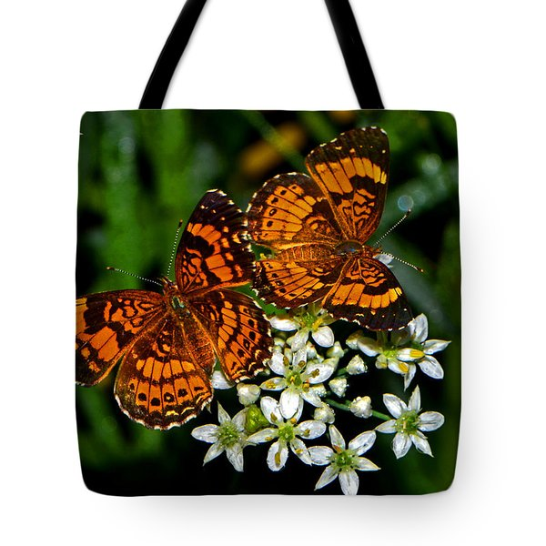 Tote Bag featuring the photograph Breakfast At The Gardens 010 by George Bostian