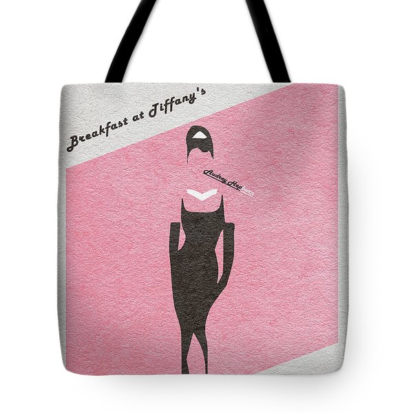 Breakfast At Tiffany's Tote Bag by Ayse Deniz