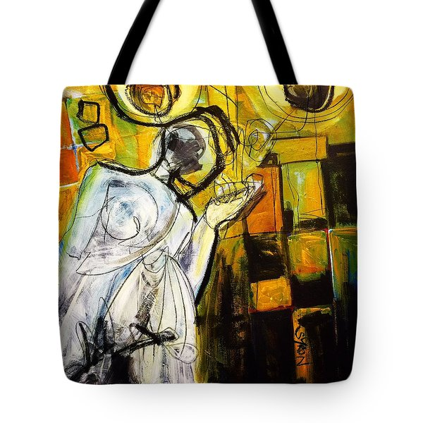Breakfast On Park Road II Tote Bag