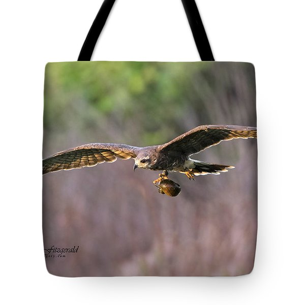 Breakfast On The Fly Tote Bag