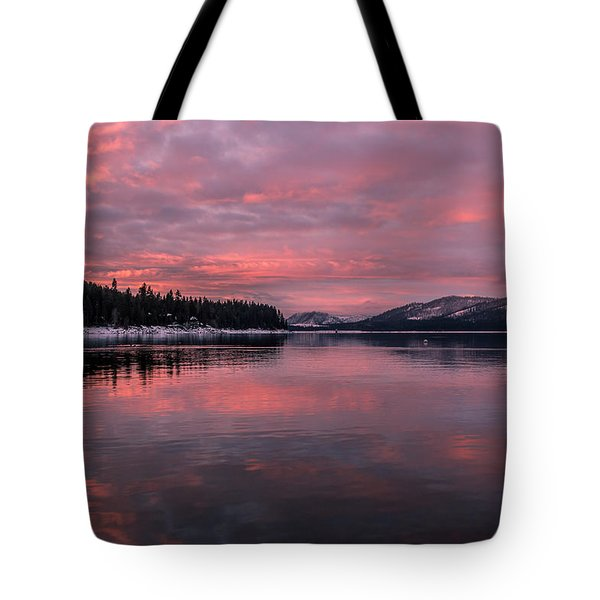 Breakfast Served Pink Tote Bag