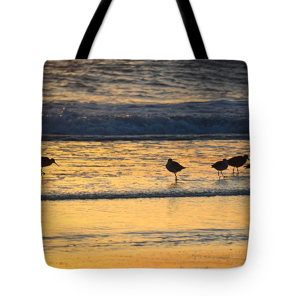 Tote Bag featuring the photograph Breakfast With Friends by Barbara Ann Bell