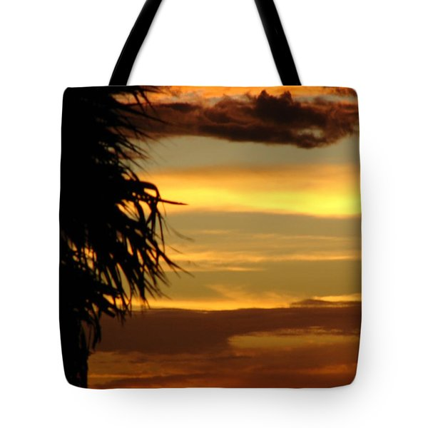 Breaking Dawn Tote Bag by Priscilla Richardson