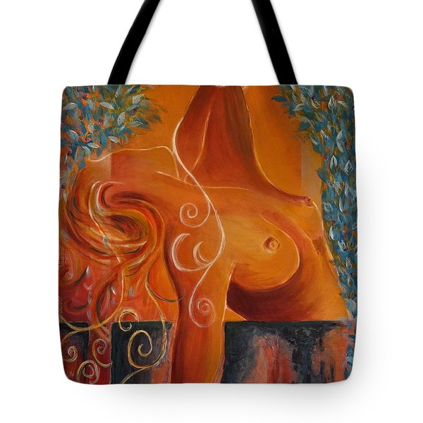 Breaking Free Tote Bag