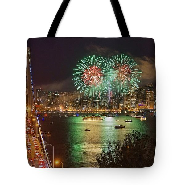 Breaking Rules On New Year's Eve Tote Bag