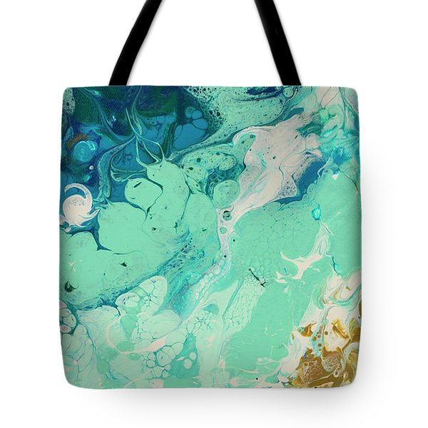 Tote Bag featuring the painting Breaking Silence by Darice Machel McGuire