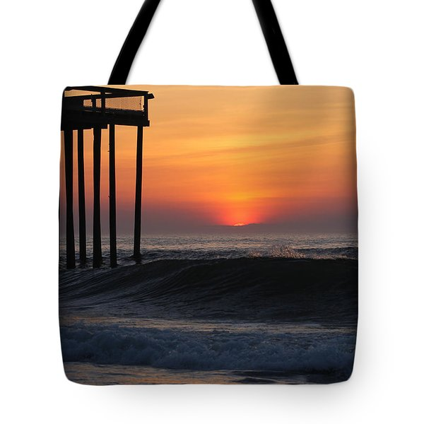 Breaking Sunrise Tote Bag