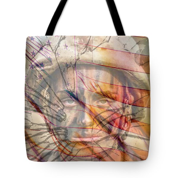 Breaking The Glass Ceiling Tote Bag by Mary Ward