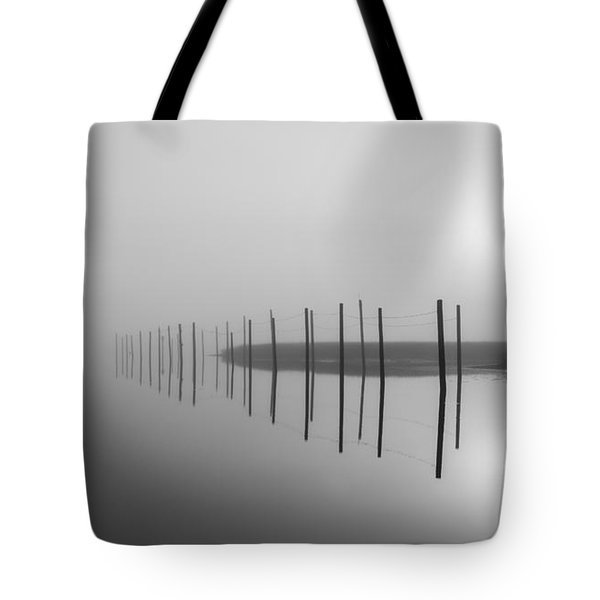Breaking Through The Fog Tote Bag