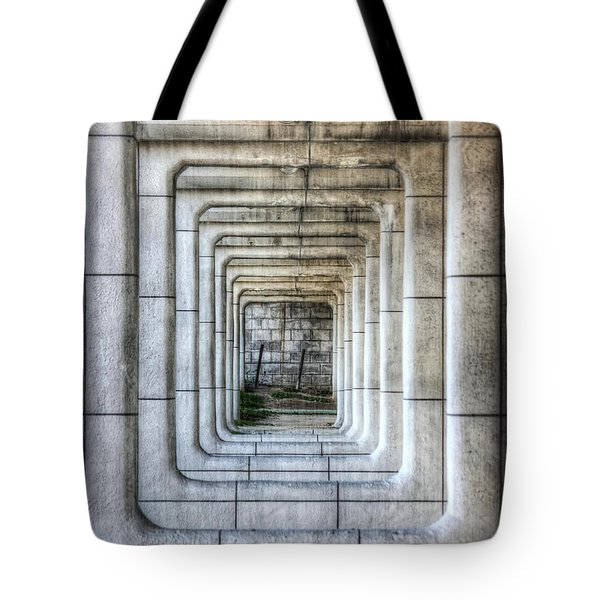 Breaking Through The Forth Wall Tote Bag by David LaSpina
