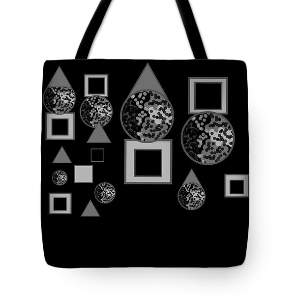 Breaking Through The Shadows Expanded No. 3 Tote Bag
