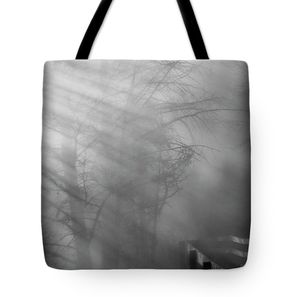 Tote Bag featuring the photograph Breaking Through by Tom Vaughan