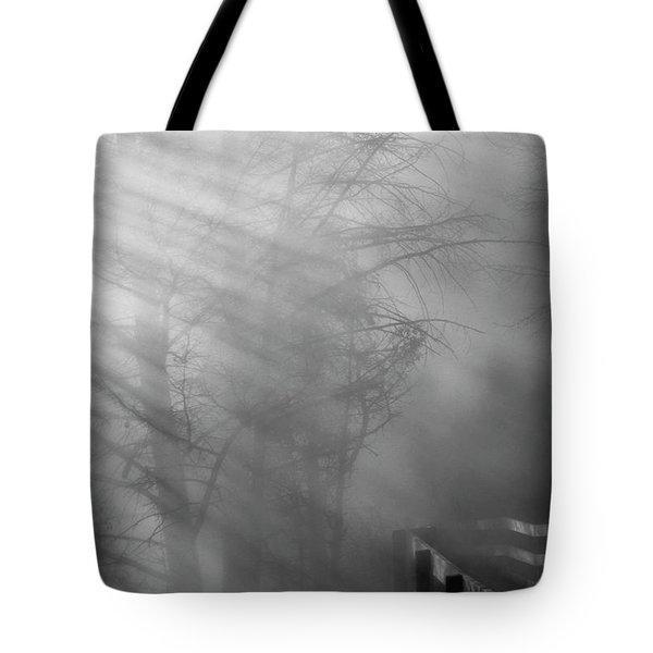 Breaking Through Tote Bag