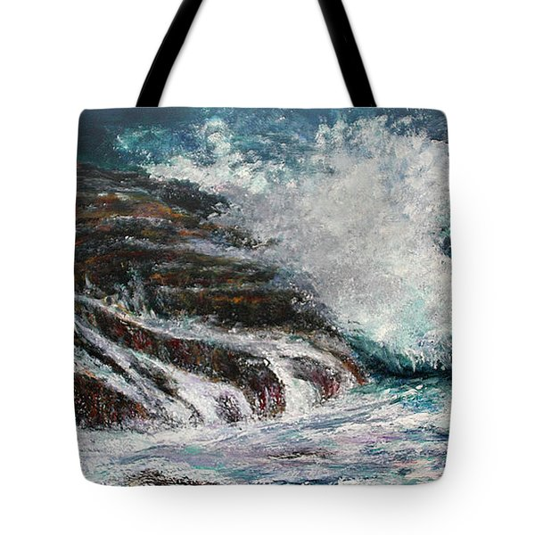 Breaking Wave Tote Bag