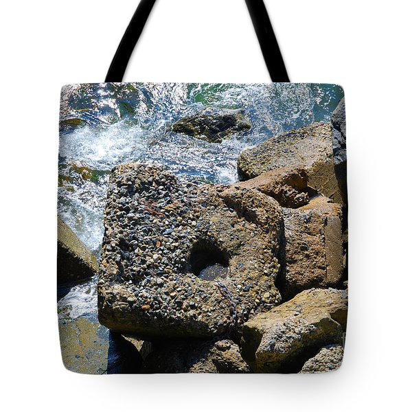 Breakwall Tote Bag