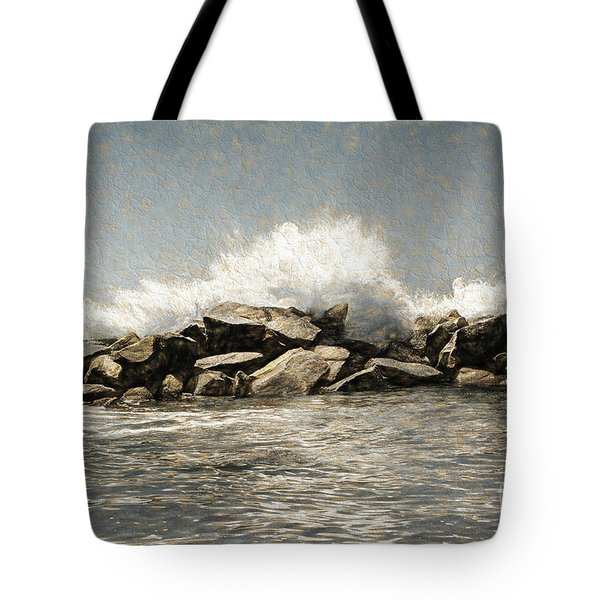 Breakwater 2 Tote Bag