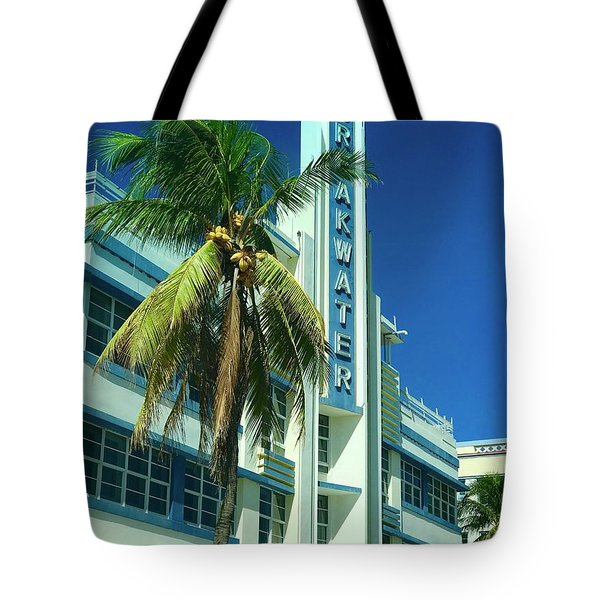 Breakwater Miami Beach Tote Bag