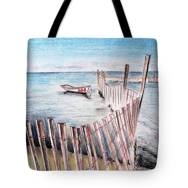 Breakwater Tote Bag