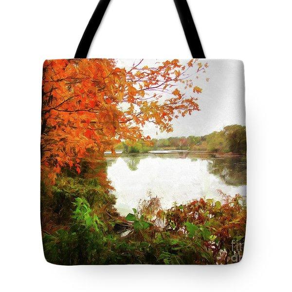 Breath Of Autumn Tote Bag