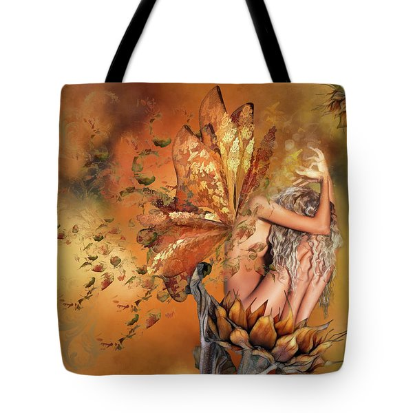 Breath Of Autumn Tote Bag