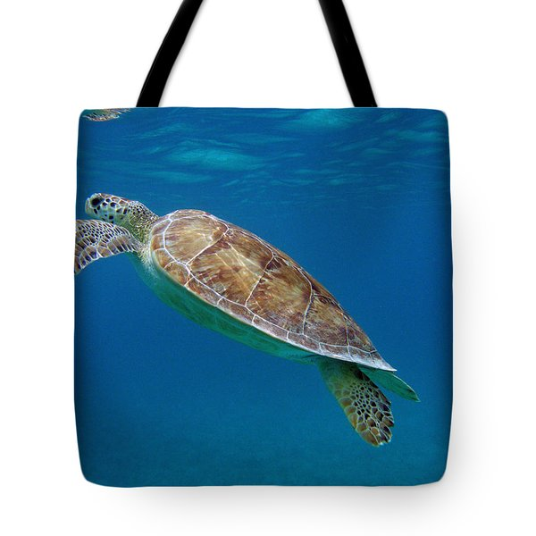 Breathe Green Tote Bag by Kimberly Mohlenhoff