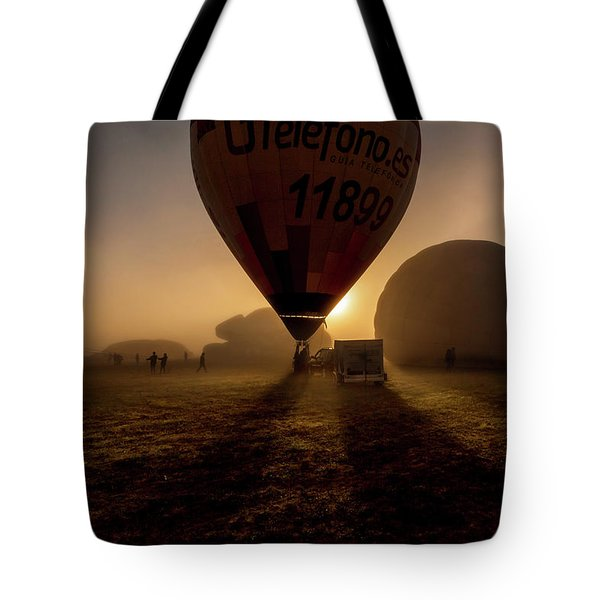 Breathe The Air Tote Bag by Jorge Maia