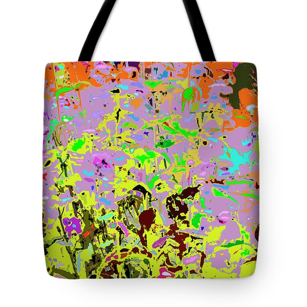 Breathing Color Tote Bag