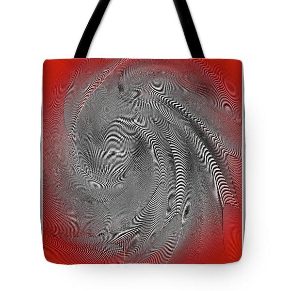 Tote Bag featuring the digital art Breathing Heart by Visual Artist Frank Bonilla