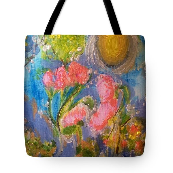 Breathing In The Sunlight Tote Bag