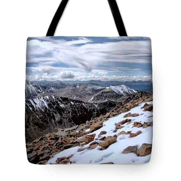 Tote Bag featuring the photograph Breathing More Than Just A Little by Jim Hill