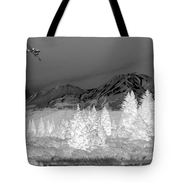 Breathtaking In Black And White Tote Bag by Joyce Dickens