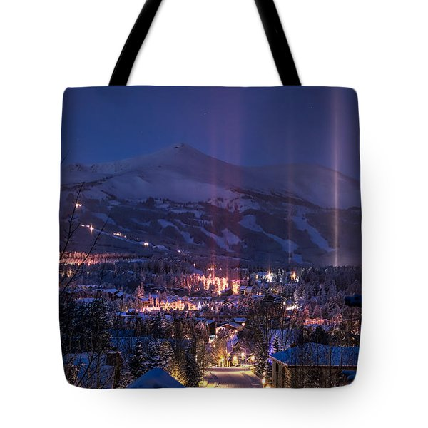 Breckenridge Phenomenon Tote Bag