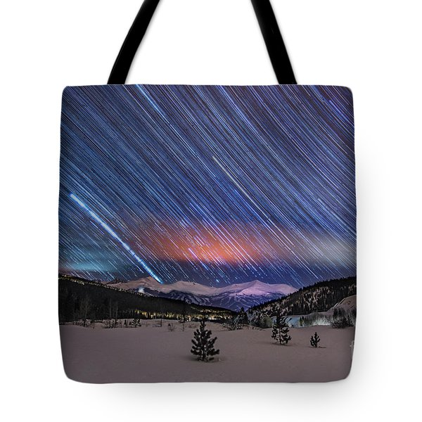 Tote Bag featuring the photograph Breckenridge Trails  by Bitter Buffalo Photography