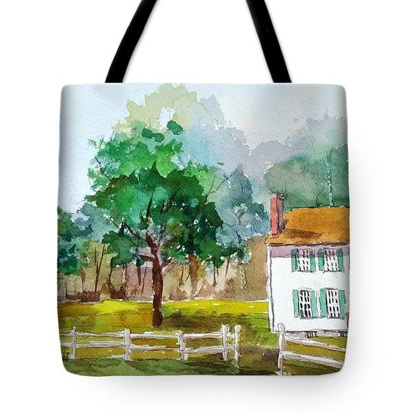 Brecknock Park Tote Bag by Larry Hamilton