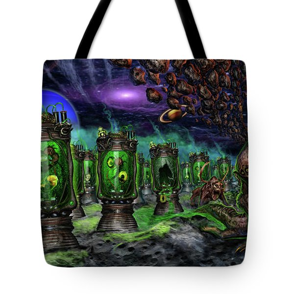 Breeding On Other Lands Tote Bag by Tony Koehl