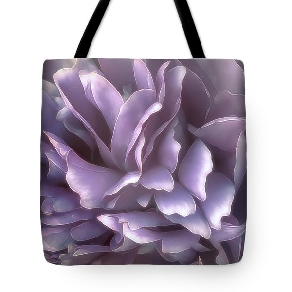 Tote Bag featuring the photograph Breeze In Cool Lilac by Darlene Kwiatkowski
