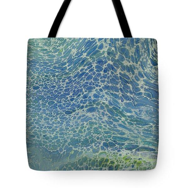 Breeze On Ocean Waves Tote Bag