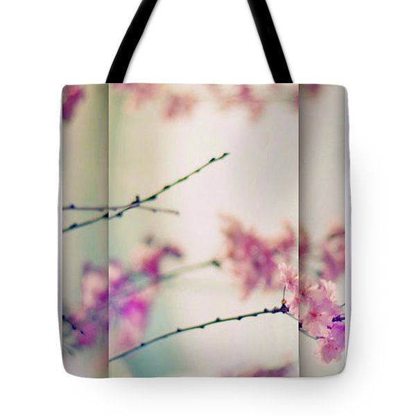 Tote Bag featuring the photograph Breezy Blossom Panel by Jessica Jenney
