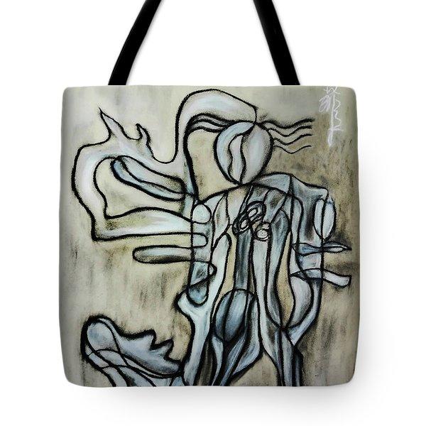 Breezy Dance Tote Bag