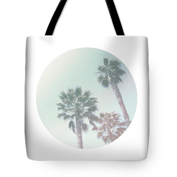 Breezy Palm Trees- Art By Linda Woods Tote Bag by Linda Woods