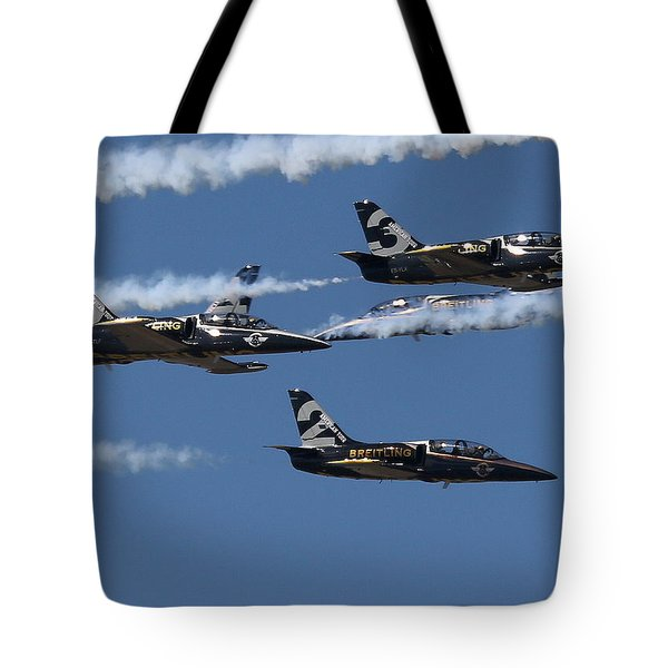 Tote Bag featuring the photograph Breitling Convergence by John King