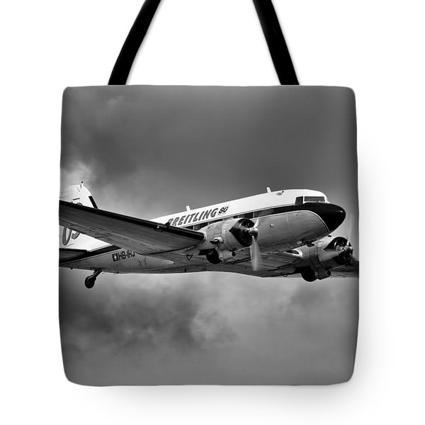 Breitling Dc-3 Tote Bag by Ian Merton