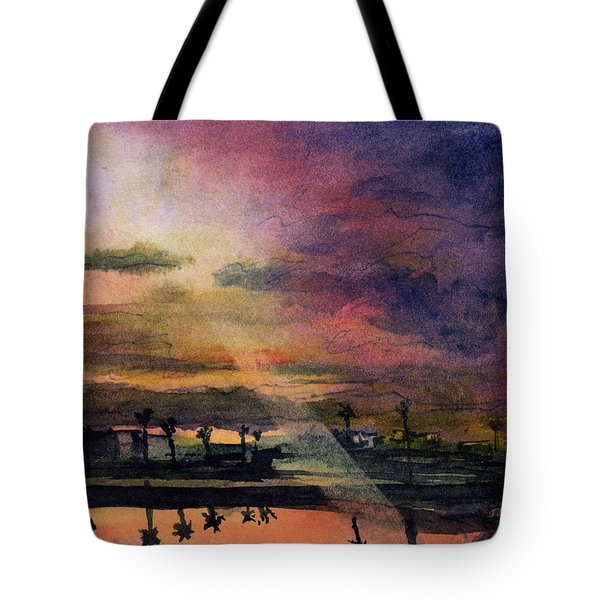 Brenda's Bay Tote Bag by Randy Sprout