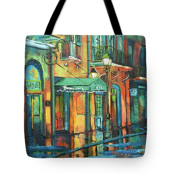 Tote Bag featuring the painting Brennan's by Dianne Parks