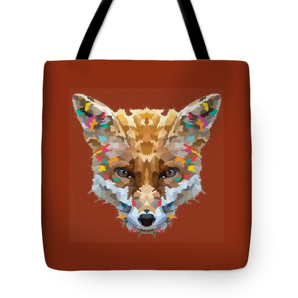 Brerr Fox T-shirt Tote Bag