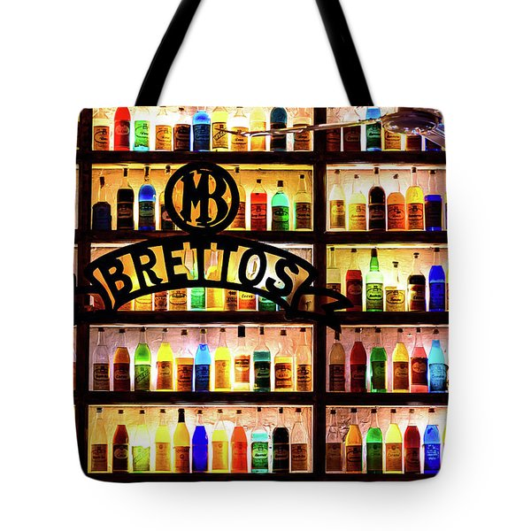 Brettos Bar In Athens, Greece - The Oldest Distillery In Athens Tote Bag