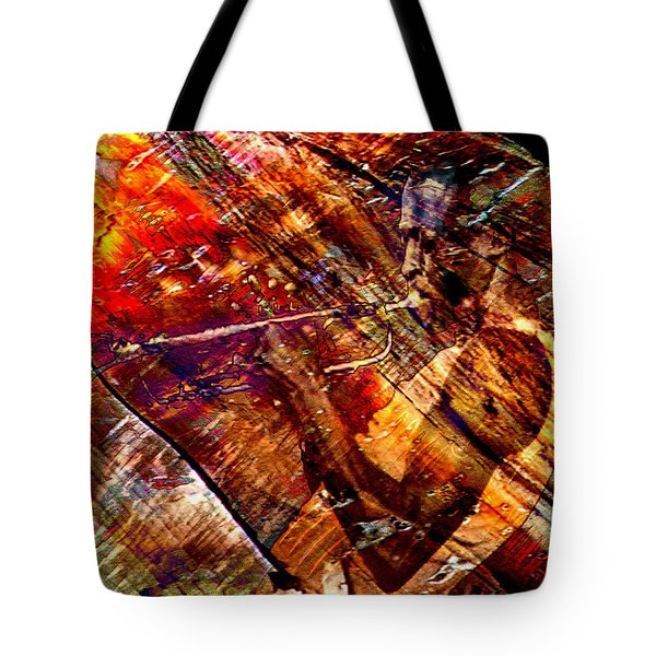 Tote Bag featuring the digital art Brew by Ken Walker