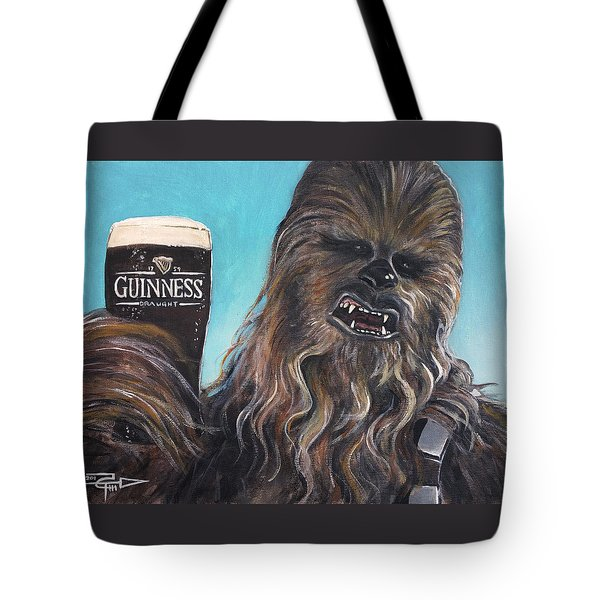 Brewbacca Tote Bag by Tom Carlton